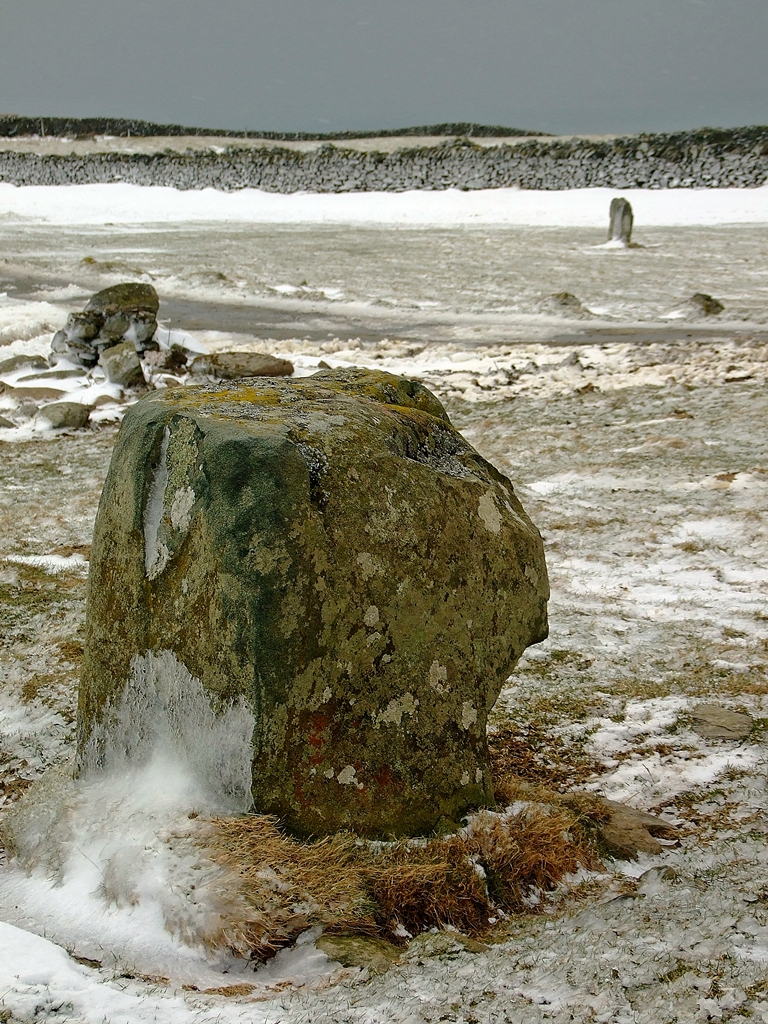 Fonlief Hir 'D' Standing Stone