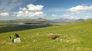 Panorama Snowdonii i Pólwyspu Llŷn