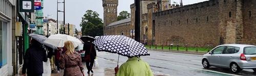 Leje jak w Cardiff