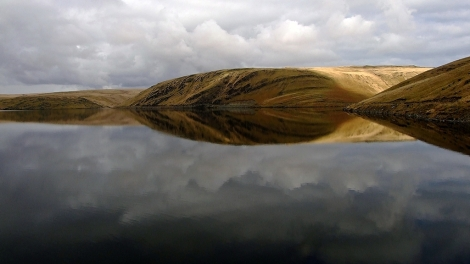 Green Desert of Wales - Claerwen Reservoir