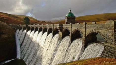 Green Desert of Wales - Craig Goch Dam