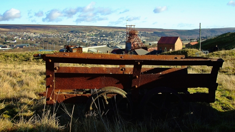 Dawna kopalnia węgla zamieniona w muzeum - Big Pit, Blaenavon