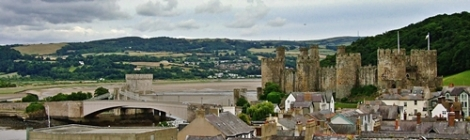 Conwy Castle and Bridges