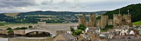 Conwy Castle and Bridges