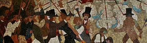 Newport Chartists Mural (źródło zdjęcia: https://upload.wikimedia.org/wikipedia/commons/f/f5/Newportx1.JPG)