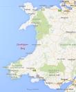 Cardigan Bay - Mapa
