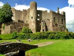 Laugharne Castle