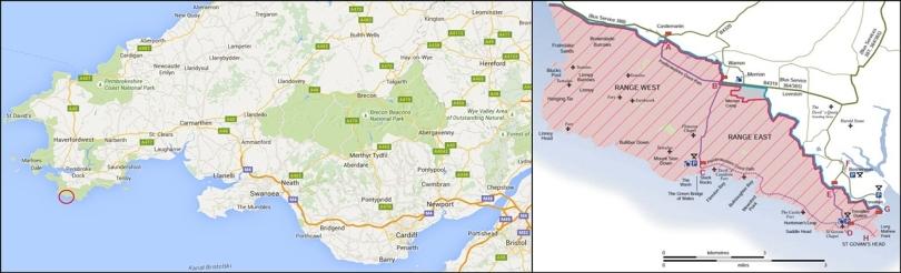 Jak znaleźć Green Bridge of Wales?