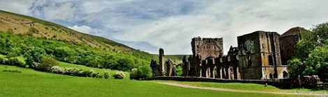 Black Mountains - Llanthony Priory