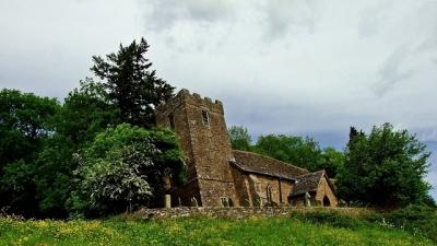 Saint Martin's Church w Cwmyoy