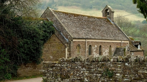 St. David's Church w Llanthony