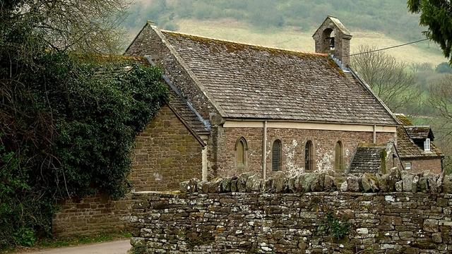 St. David's Church w Llanthony