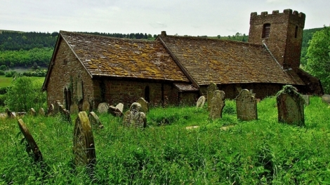 St. Martin's Church w Cwmyoy