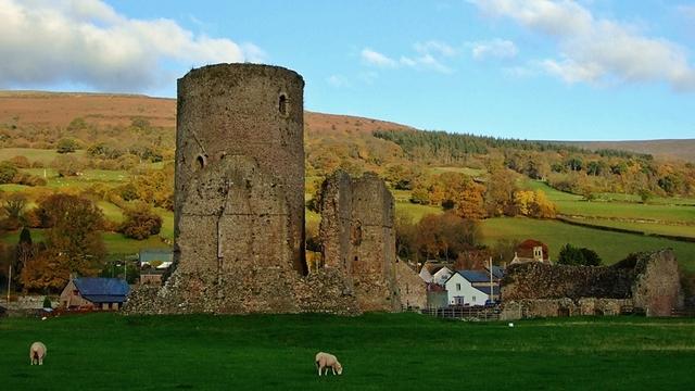 Tretower Castle