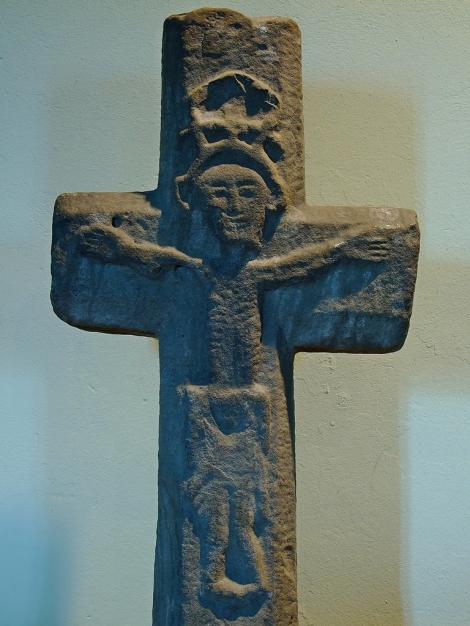 Średniowieczny krzyż w St. Martin's Church