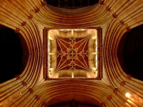 Sklepienie kościoła parafialnego pod wezwaniem Świętego Wawrzyńca