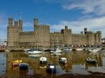 """Caernarfon - """"najwspanialszy zamek jaki widziało ludzkie oko"""""""