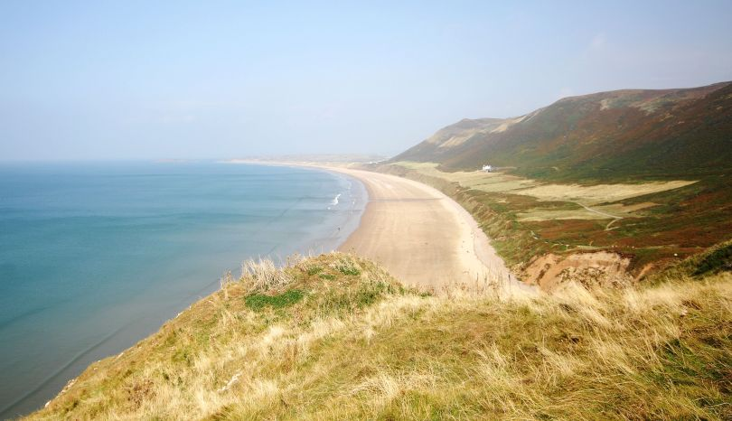 Plaża Rhossili