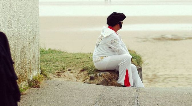 Elvis is in town – w Porthcawl