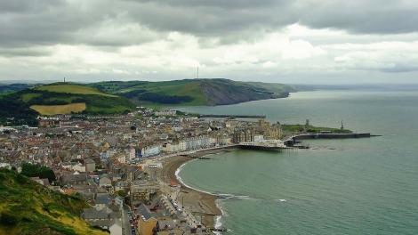 Panorama Aberystwyth