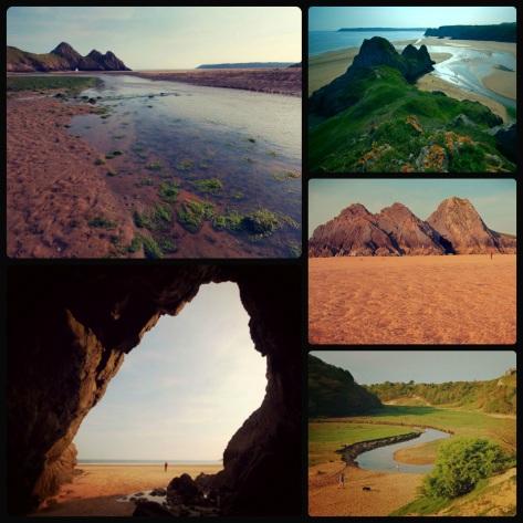 Zatoka Trzech Klifów – Three Cliffs Bay