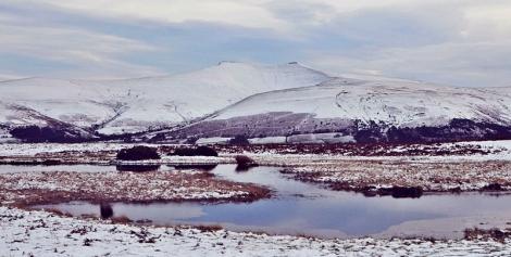 Zima w Brecon Beacons