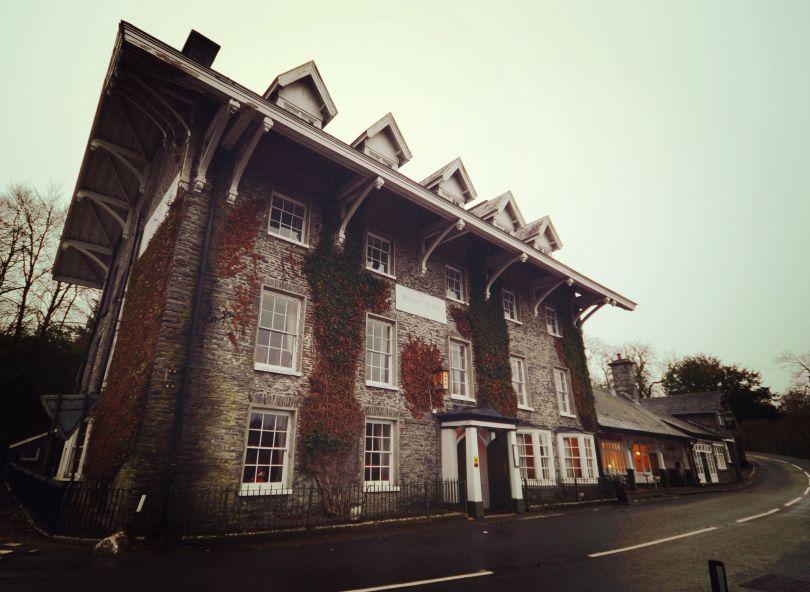 The Hafod Hotel w Devil's Bridge