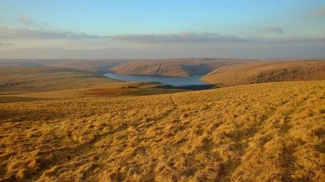 Na wzgórzach nad Doliną Claerwen