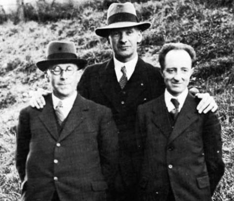 Saunders Lewis, Lewis Valentine i DJ Williams