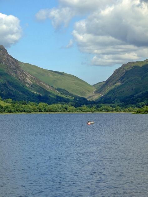 Jezioro Tal-y-llyn i przełęcz Bwlch Llyn Bach