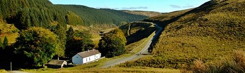 Wąskimi drogami przez Walijską Pustynię – Abergwesyn Pass