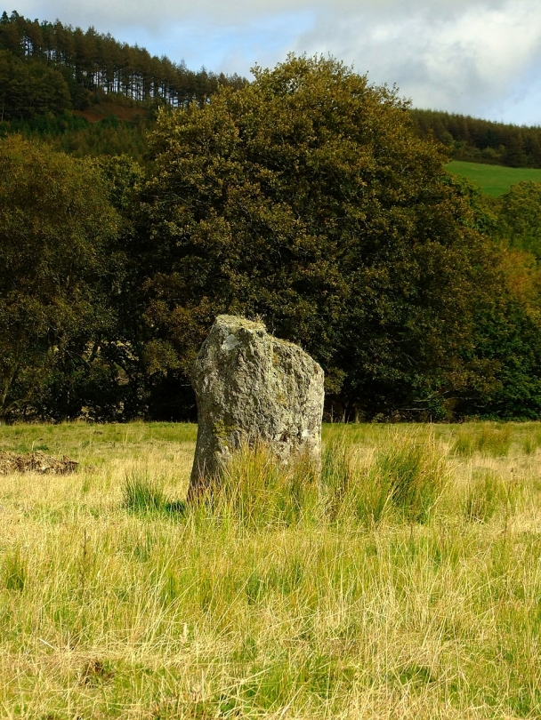Capel Rhos standing stone