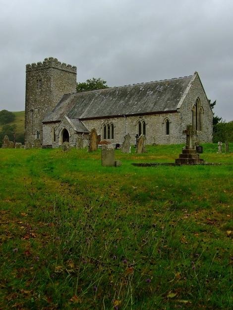 St Afan's Church w Llanafan-fawr