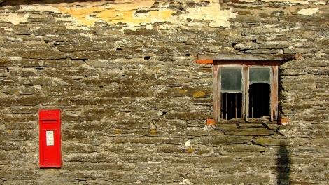 Stara stodoła w Abergwesyn