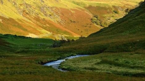 Wąwóz rzeki Irfon - Wilczy Skok (Wolf's Leap)