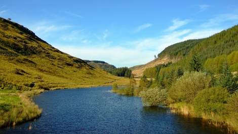 Krajobrazy doliny Camddwr