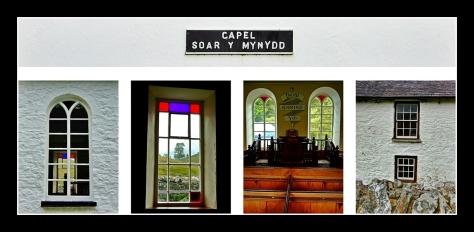 Detale kaplicy Soar-y-Mynydd
