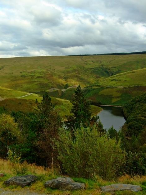 Llyn Brianne i okolice