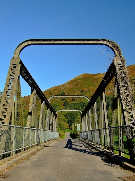Most na rzece Tywi w Rhandirmwyn