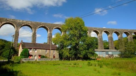 Cynghordy Viaduct i Gosen Chapel