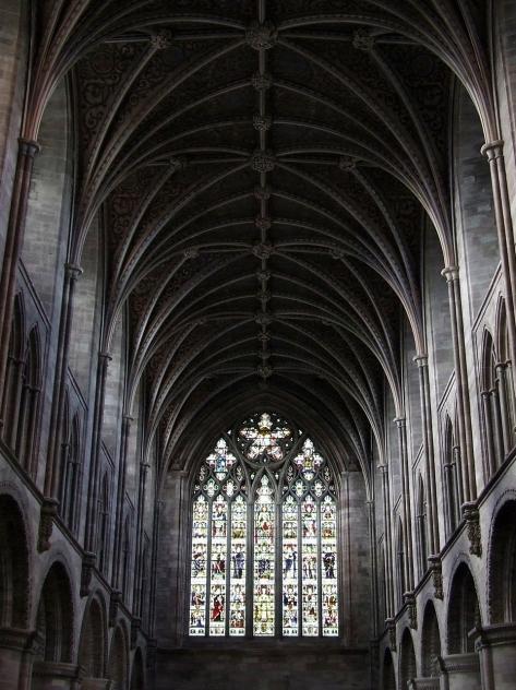 Wnętrze herefordzkiej Katedry