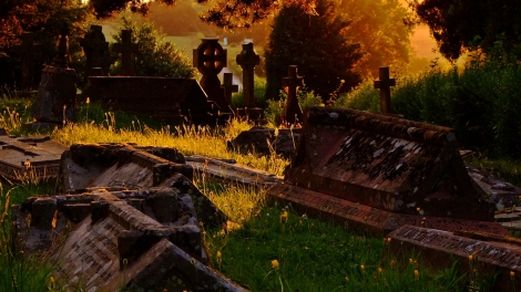 Cmentarz przy Belmont Abbey