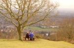 Widok na Great Malvern, pogranicze po angielskiej stronie, autor: Smok Walijski
