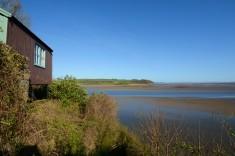 Szopka - samotnia poety nad estuarium rzeki Taf