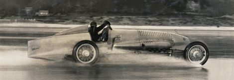 Malcolm Campbell w Pendine
