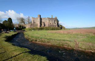 Laugharne - zamek