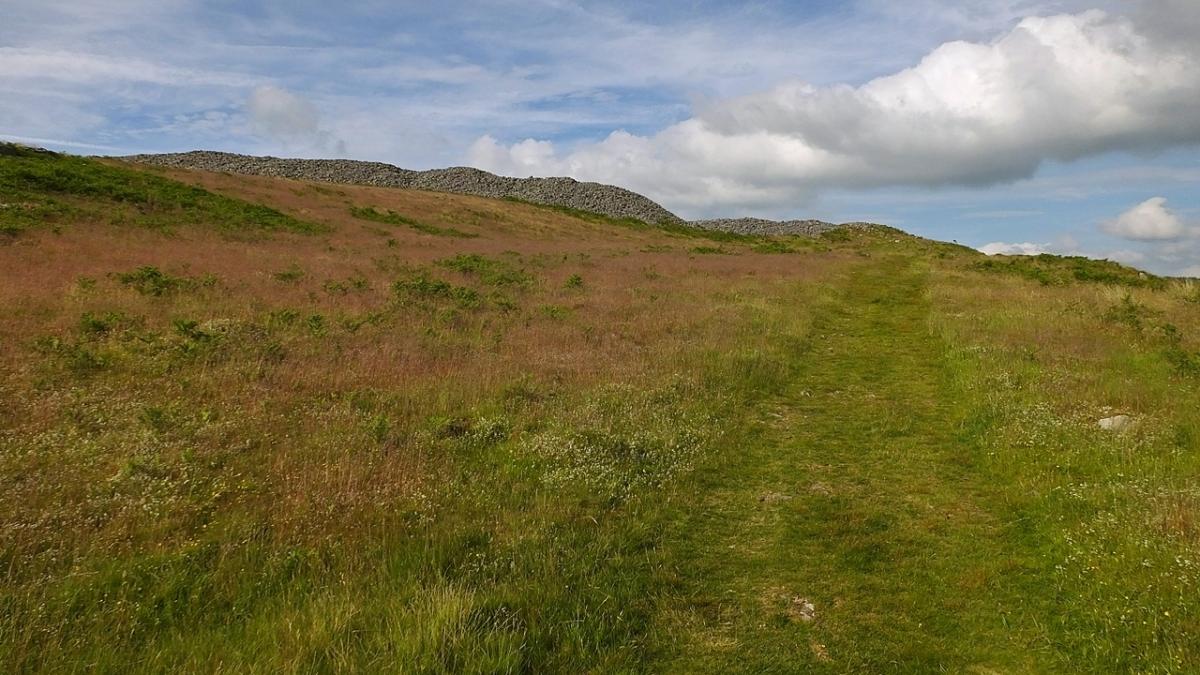 Garn Goch - grodzisko z epoki żelaza