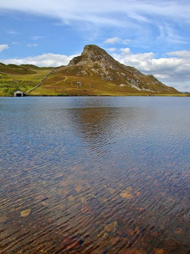 Cregennan Lakes - grodzisko na Pared-y-Cefn-Hir