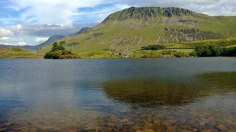 Cregennan Lakes - z widokiem na Cadair Idris