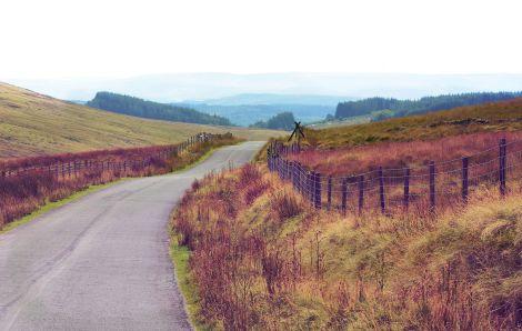 Drogi Black Mountain